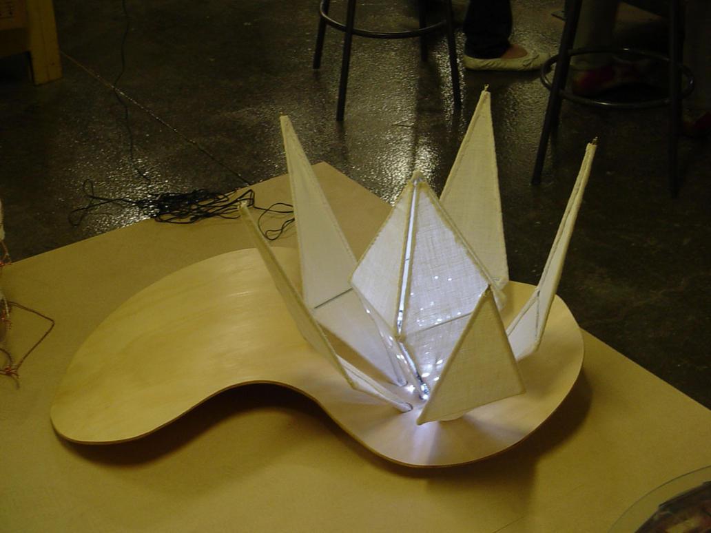 Shoji Lotus Lamp by juiblex on DeviantArt
