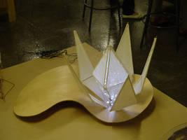 Shoji Lotus Lamp by juiblex
