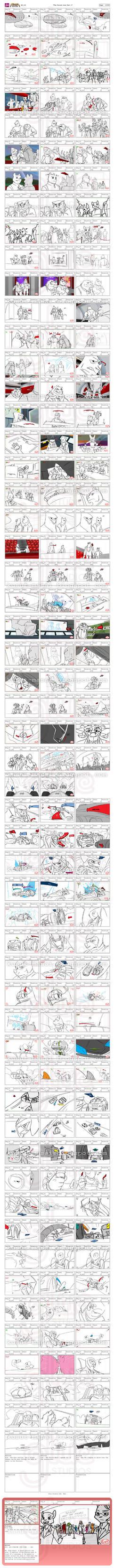 Rimba Racer Storyboard (S01 EP012)