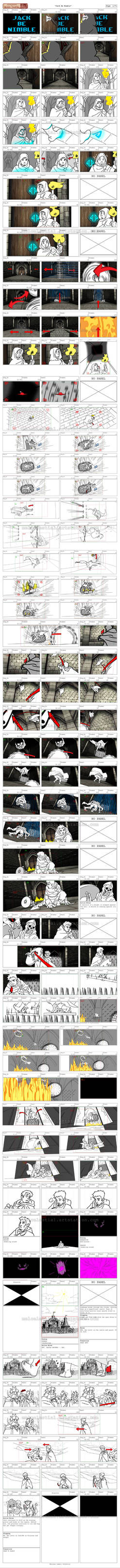 Jack Be Nimble Storyboard