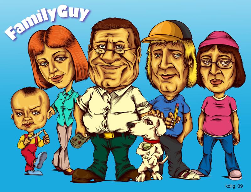 Family Guy by KDLIG