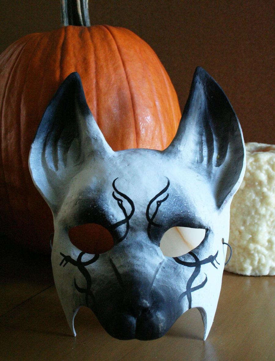 Как сделать себе маску лисы