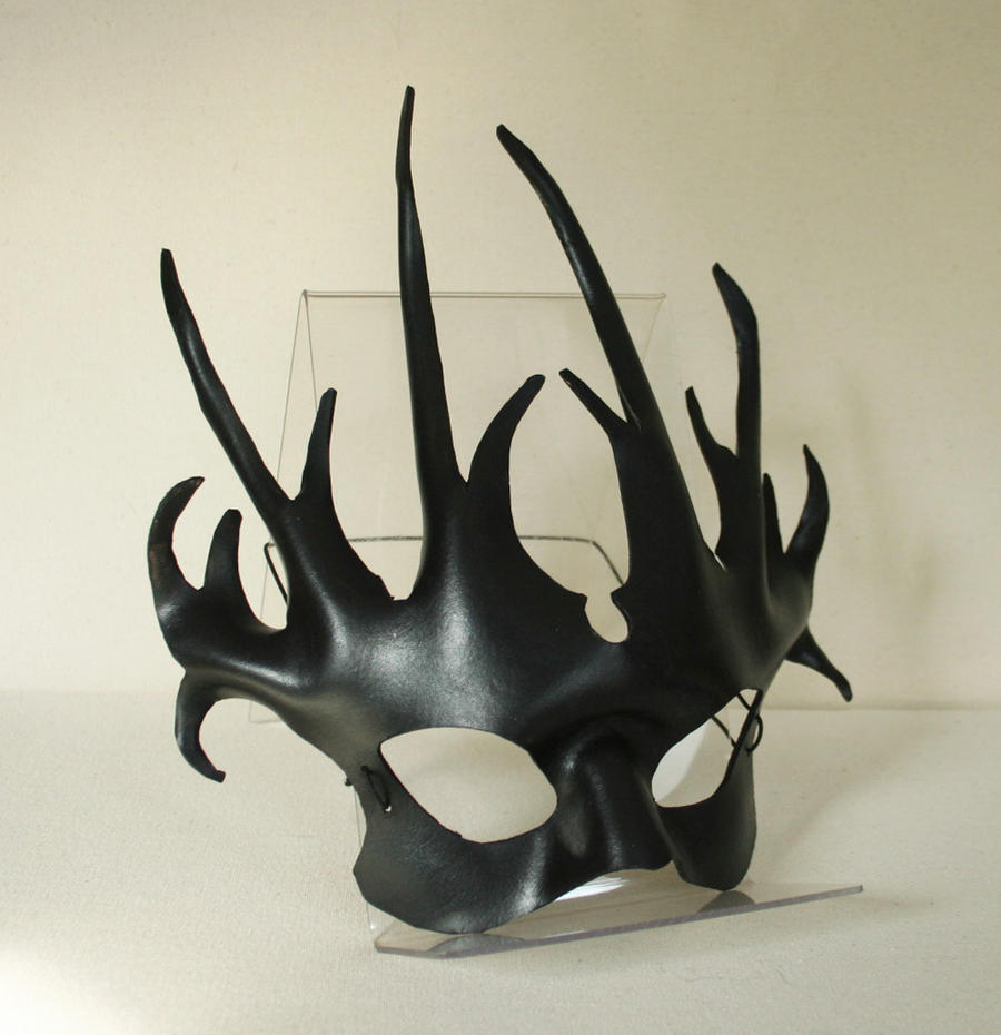 Witches Brambles Leather Mask by nondecaf