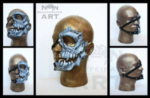 Livio The Double Fang Mask Prototype by nondecaf