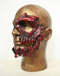 Livio the Double Fang Mask in Red by nondecaf