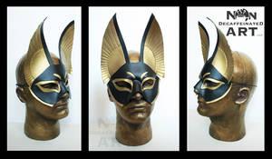Egyptian inspired Handmade Leather Mask