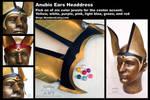 Custom Anubis ears