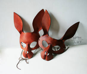 Brown Rabbits by nondecaf