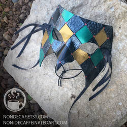 Diamond Domino Party Mask by nondecaf