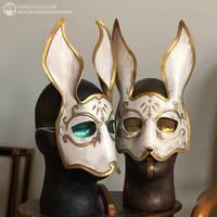 Bioshock Splicer rabbit by nondecafart