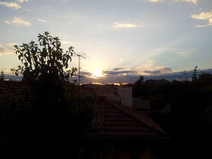 Sunset view from my house