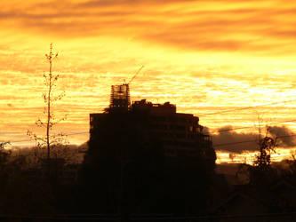 AWESOME SUNSET SKY by pakom15w