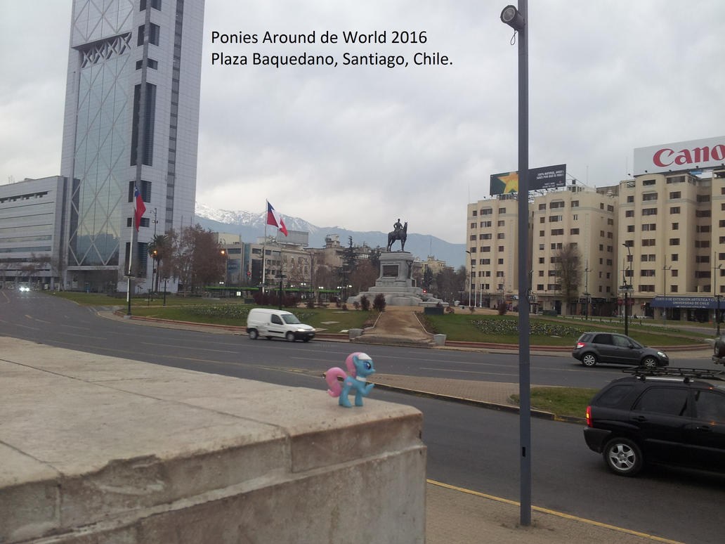 Lotus at Plaza Baquedano by pakom15w