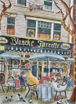 Coffee at Blanche's