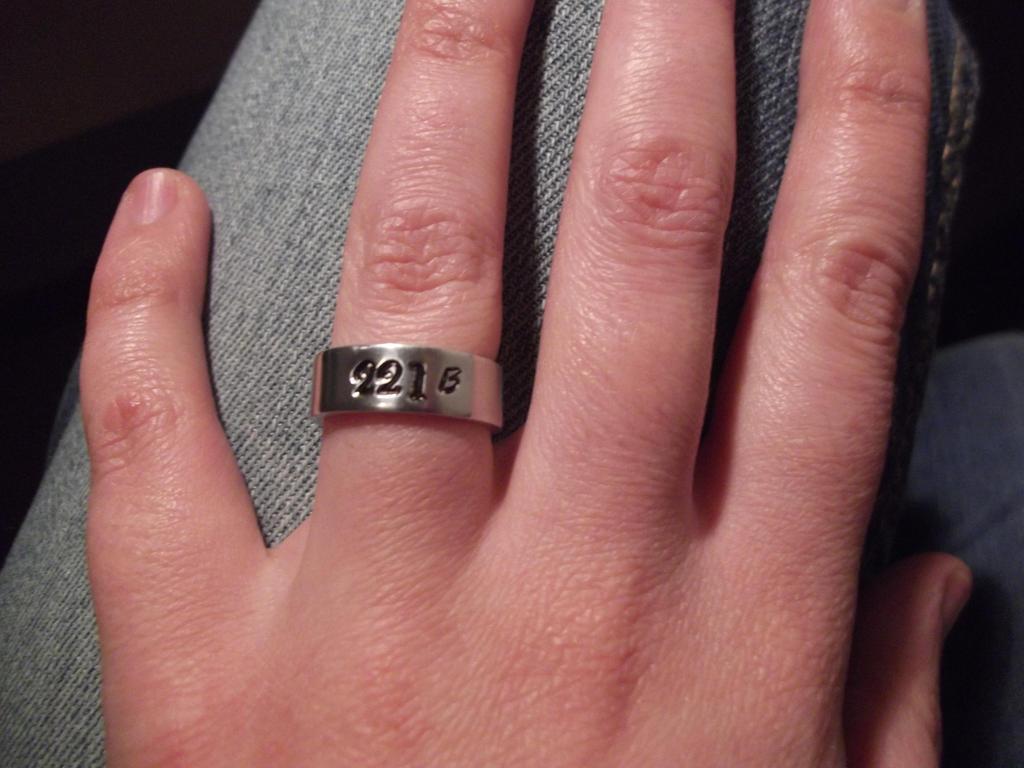 221 B ring by capricornc5 on DeviantArt