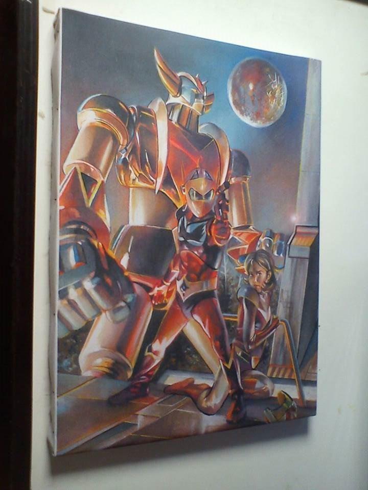 VENUSIA's RESCUE PRINT on CANVAS Preview by Gedamo