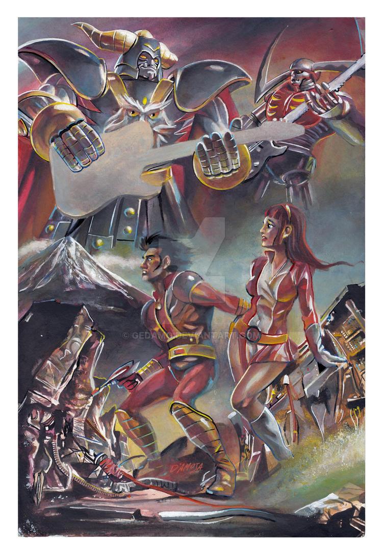 I ROBOT VE LE SUONANO Mazinger Z Tribute by Gedamo