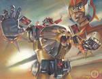 Daltanious Il ROBOT del FUTURO Preview