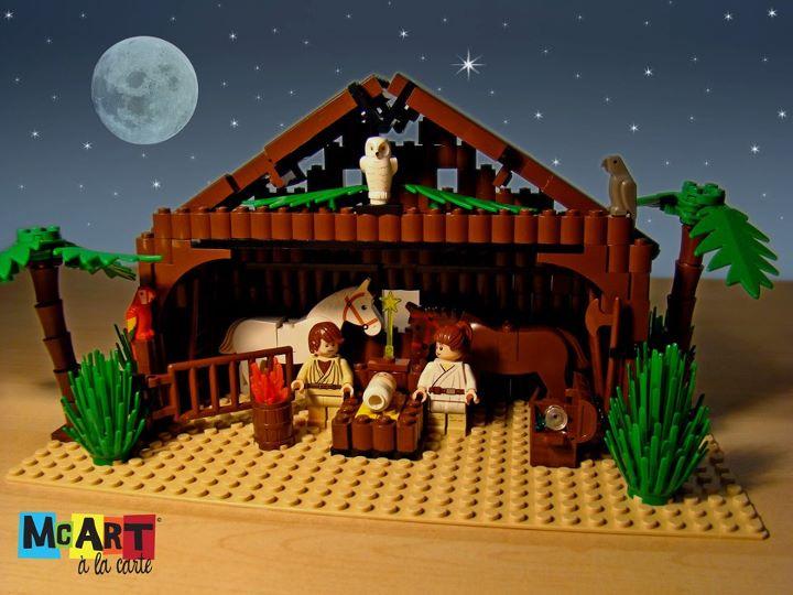 lego nativity scene instructions