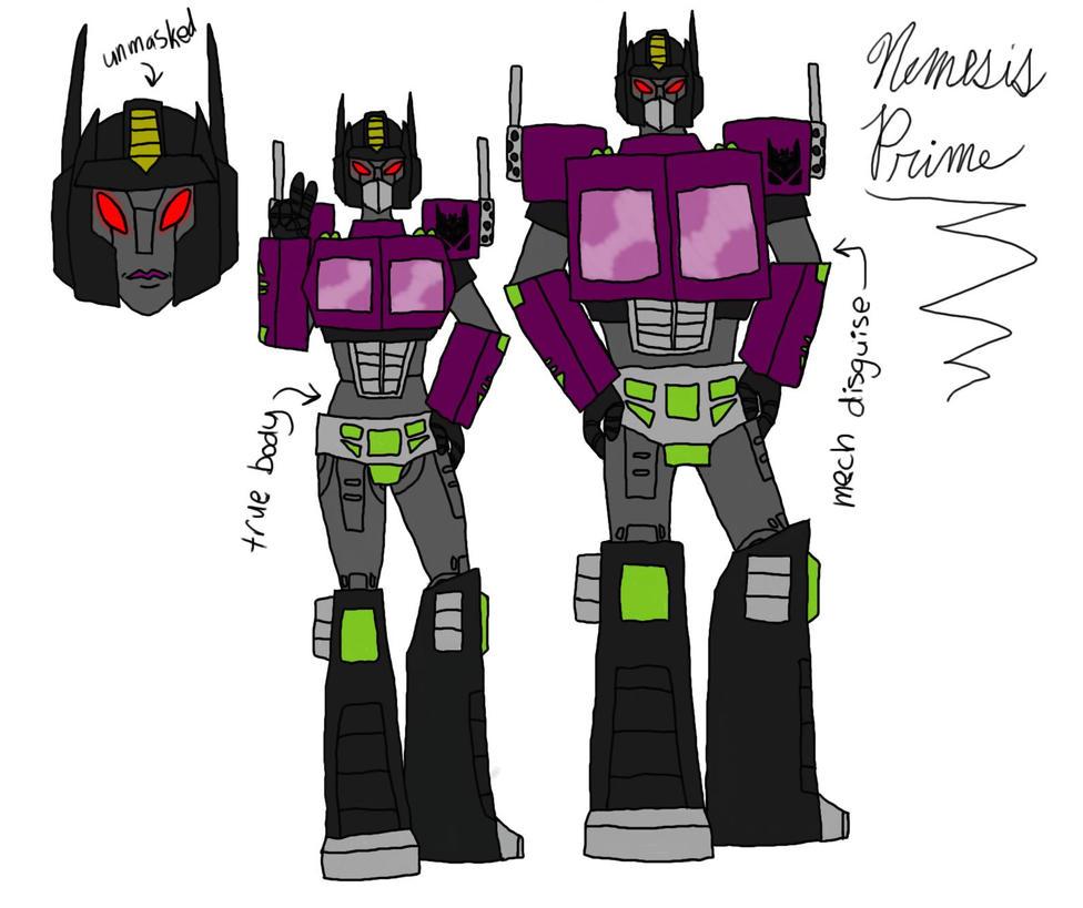 G1 Rp Nemesis Prime Recolor By Rawr124 On Deviantart