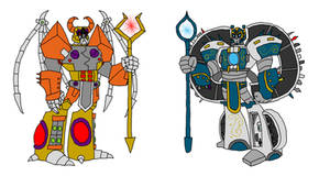 TFA: Unicron and Primus by RAWR124
