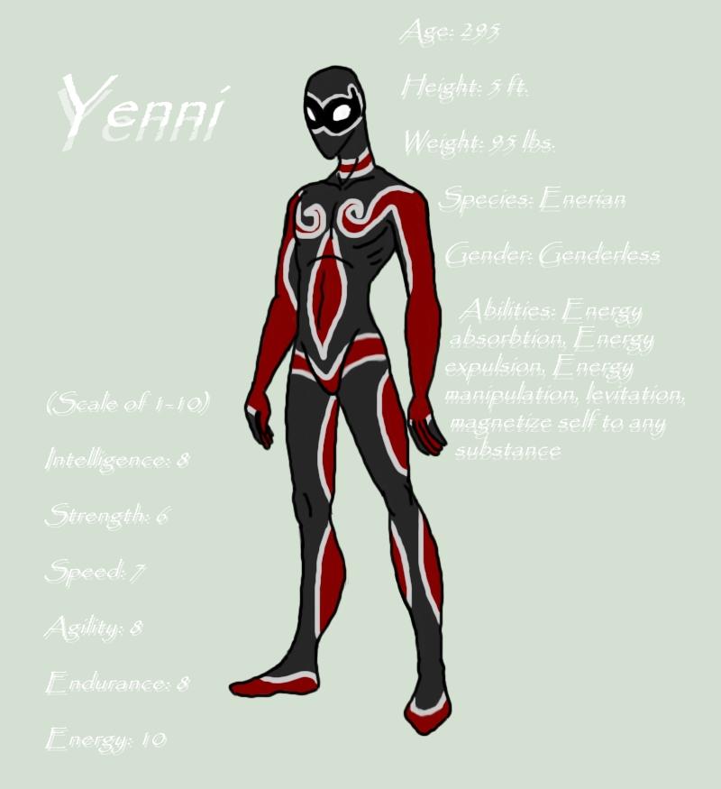Superhero OC Yenni By RAWR124 On DeviantArt