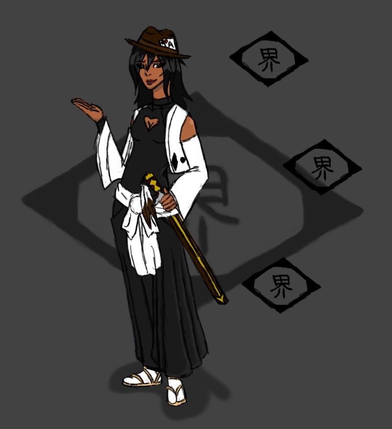Bleach OC: Clash Of Cultures By RAWR124 On DeviantArt