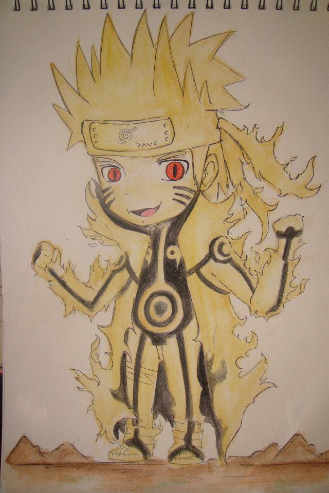 The gallery for --> Bijuu Mode Naruto Chibi