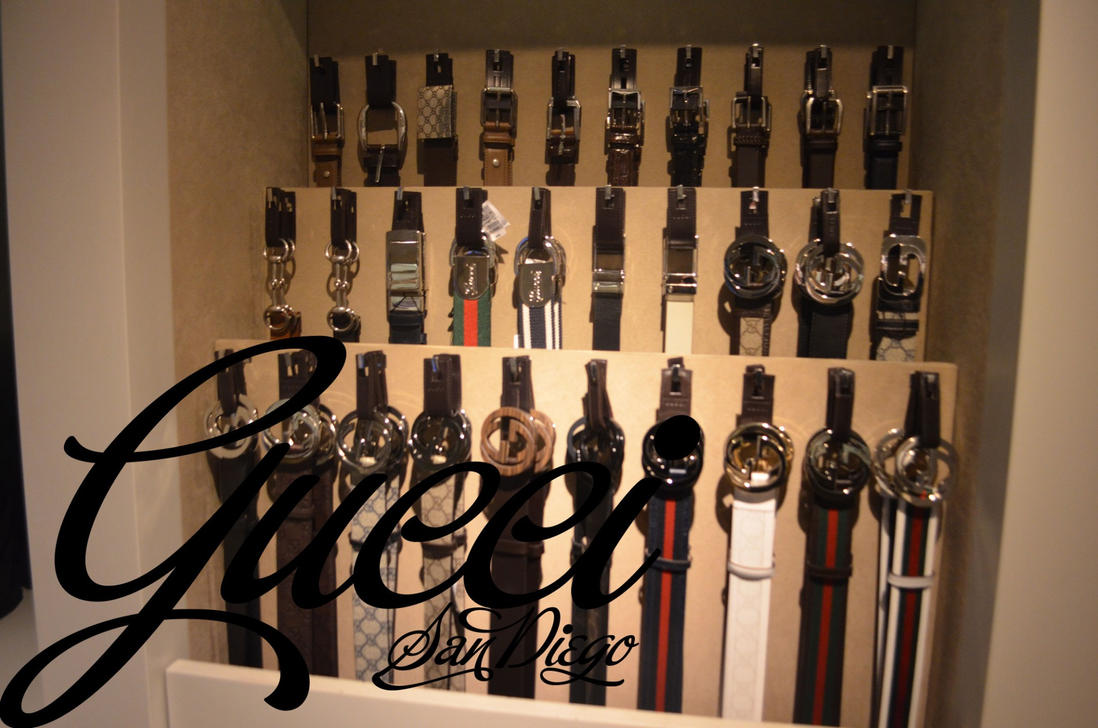 Gucci Store Belts Fashion Valley San Diego by OgJimrock ...