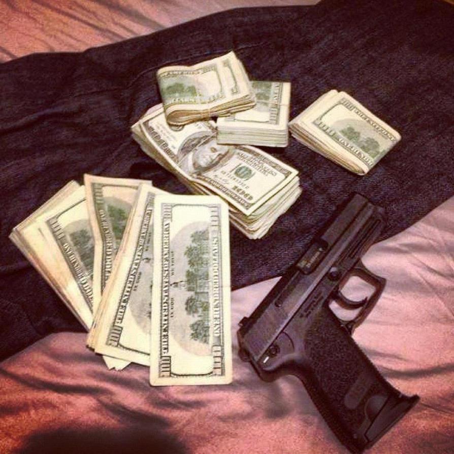 Jimrock stacks of Cash and guns 100's BILLS dollar by ...
