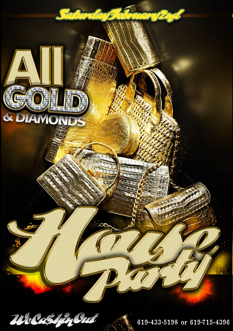 All gold house party flyer template by ogjimrock on deviantart all gold house party flyer template by ogjimrock saigontimesfo