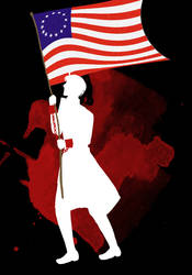 USA Silhouette by FriendlyMushrooms