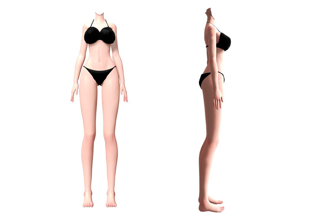 3d mmd voluptuous byakuren struts her big tits and ass 10