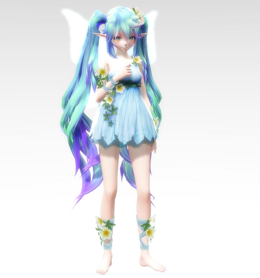 TDA Fairy Miku DL by Skary66