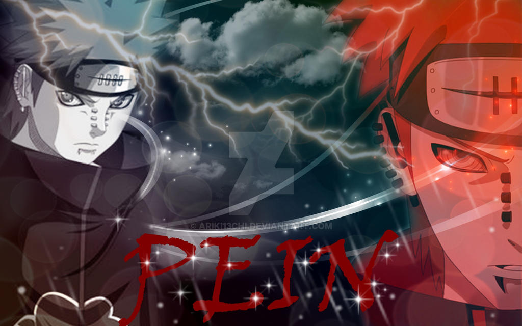 Wallpaper Pein Akatsuki Naruto By Ariki13chi On Deviantart