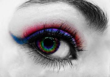 Rainbow Eye II by Poof-fooP