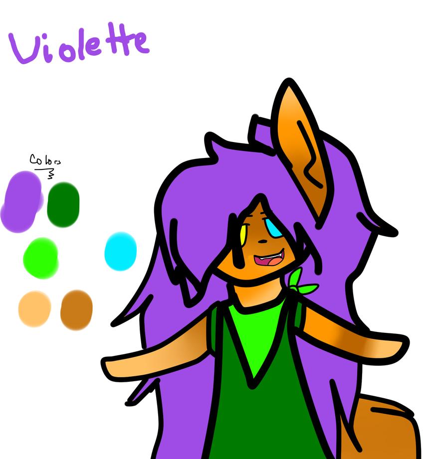 Violette - ColorGuide - AriiArtz by AriElPra