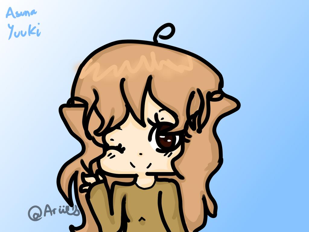 Asuna by AriElPra