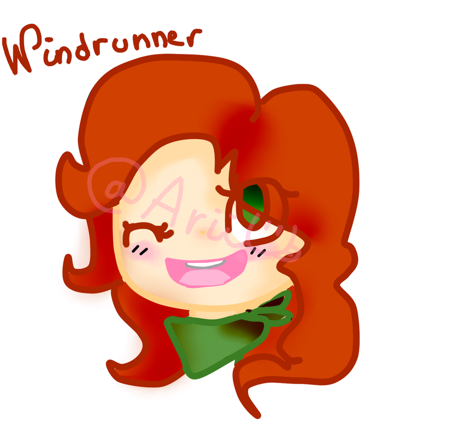 Windrunner - Dota 2. by AriElPra