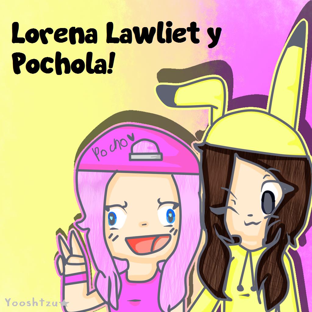 Lorena Lawliet y Pochola! - FanArt by AriElPra