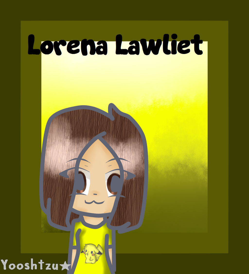Lorena lawliet - FanArt. by AriElPra