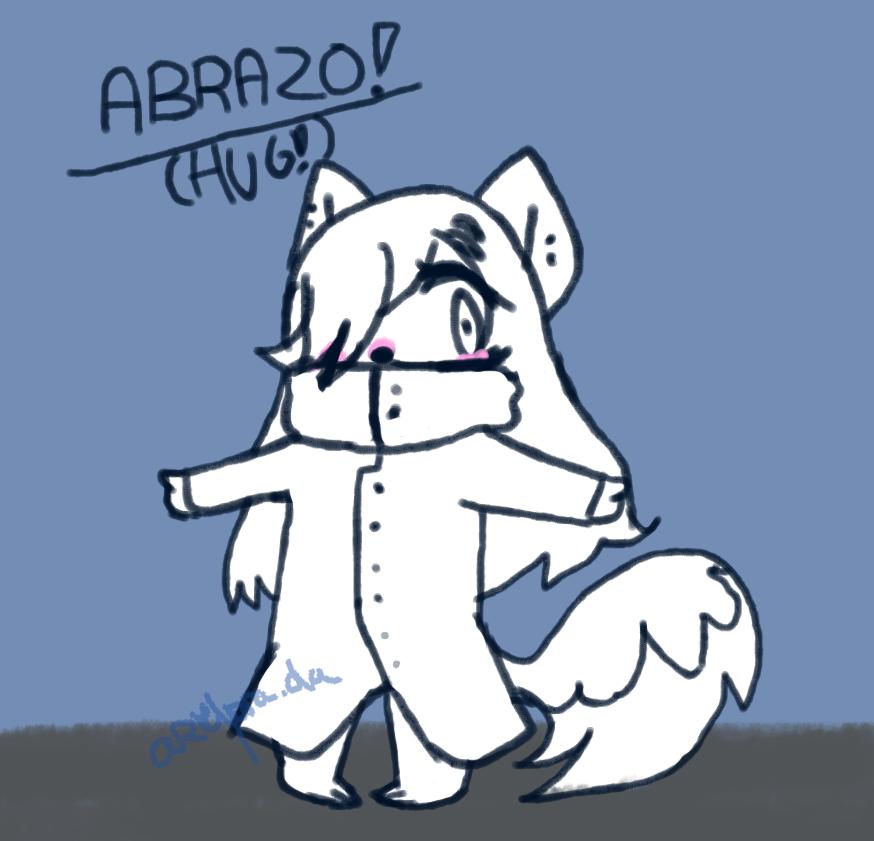 Abrazo! (Hug?) by AriElPra