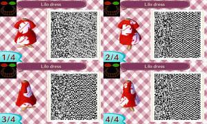 ACNL QR Code - Lilo dress