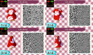 ACNL QR Code - Lilo dress by JessicaIngmann