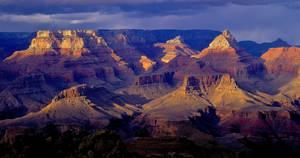 Winter Sunset, South Rim, Grand Canyon, Arizona