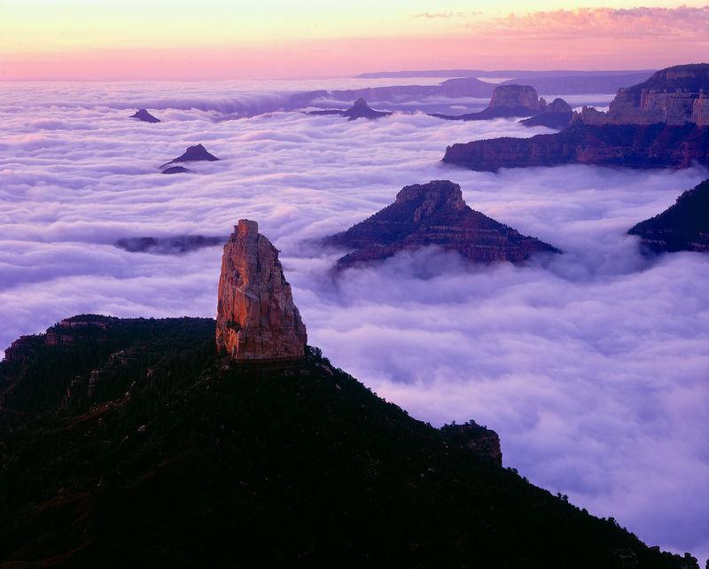 Dawn, Pt. Imperial, Grand Canyon, North Rim
