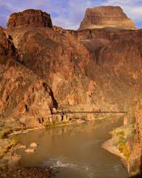 Colorado River at Phantom Ranch, Grand Canyon