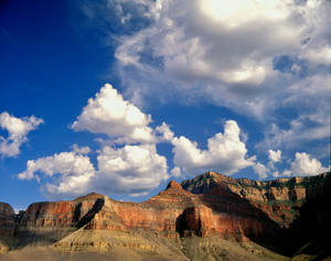 Clouds, Grand Canyon, Plateau Pt.