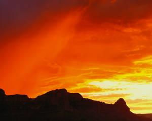 Sunset, Grand Canyon, Plateau Pt.