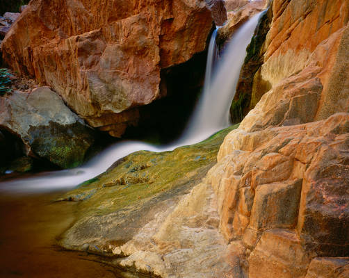 Small Waterfall, Phantom Creek, Grand Canyon